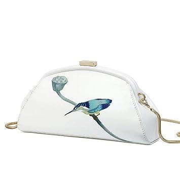 GG-Clutches Bolso Nupcial con Cuentas Mini Bolso con Forma de Abalorios con Forma de corazón Bolso de Embrague con Forma de corazón: Amazon.es: Hogar