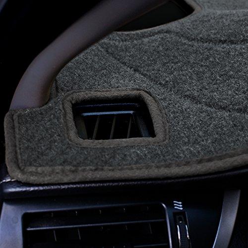 Black Molded Carpet Coverking Custom Fit Dashcovers for Select Chevrolet Tahoe Models