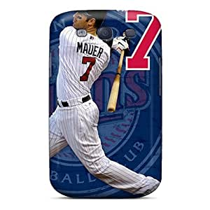Faddish Phone Minnesota Twins Case For Galaxy S3 / Perfect Case Cover