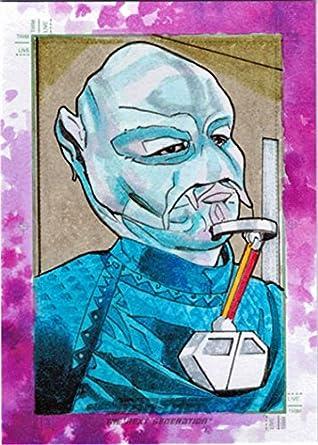 Star Trek TNG Portfolio Prints S2 Sketch Card by Roy Cover of