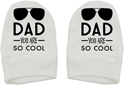 Thick Premium Dad You Are So Cool - Daddy Gift Fathers Day Mashed Clothing Sunglasses Thick /& Soft Baby Mittens