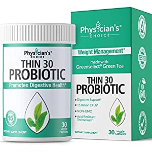 Health Shopping Probiotics for Women – Detox Cleanse & Weight Loss Support – Clinically Studied Greenselect- Organic Prebiotics…