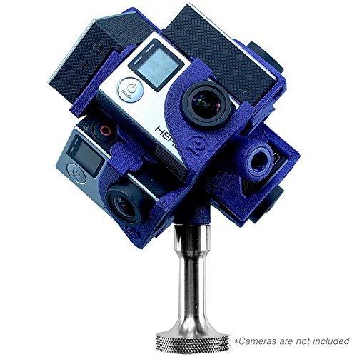 360Heros Pro7 | 360 Degree Plug-n-Play Filming 7 Cameras Holder for GoPro Hero3 Hero3+ Hero4 Series