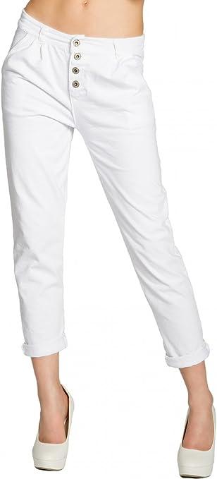Caspar KHS027 Pantalones Chinos Largos para Mujer de Algodón ...