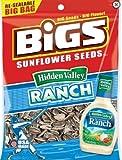 Bigs Zesty Ranch Sunflower Seeds, 5.35-Ounce (Pack of 12)