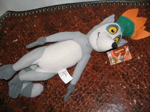Madagascar Julien the Lemur Plush (Best Of King Julian Madagascar)