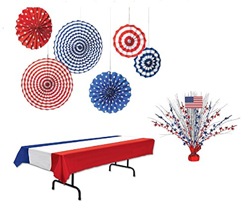 Patriotic Party Supplies Memorial Day 4th of July