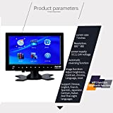 Sedeta 7 inch HD desktop car monitor with Bluetooth MP5 player for FPV Video Display Screen TV CCTV Security