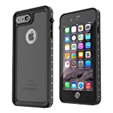 iPhone 7 Plus Waterproof Case, OTBBA Underwater Cover Full Body Protective Shockproof Snowproof Dirtproof IP68 Certified Waterproof Case for iPhone 7 Plus(5.5inch)