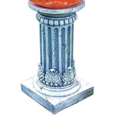 Echo Valley 9176 Tirreno Resin Pedestal Column for Gazing Globe or Sundial : Gazing Balls : Garden & Outdoor