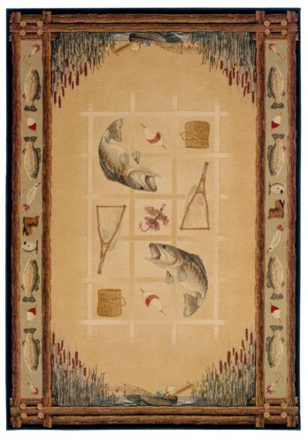 Genesis Ancient Icon Natural Rug Rug Size: 5'3