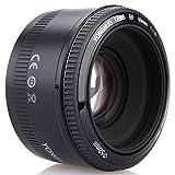 OBJETIVO YONGNUO YN50MM F1.8 LENTE PRINCIPAL ESTÁNDAR LENTE DE ENFOQUE AUTOMÁTICO de apertura grande para Canon cámara réflex DSLR montaje de EF
