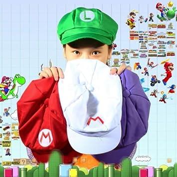 batterelec (TM) Chic Luigi Super Mario Bros Cosplay adulto tamaño ...
