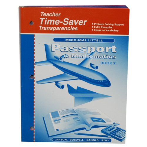 PASSPORT TO MATHEMATICS BOOK 2, ITEM BANK FOR COMPUTER TEST