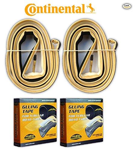 Continental Giro 700x22c Tubular Tire COMBO (2 Tires & 2 rolls of Tufo Tape)