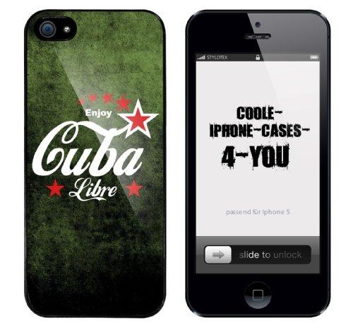 Iphone 5 Case Enjoy Cuba Libre Rahmen schwarz