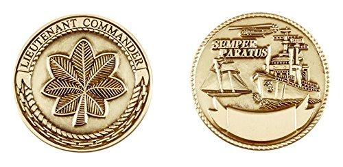 Commander Challenge Coin - Coast Guard Lieutenant Commander Challenge Coin