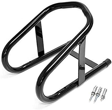 Venom Motorcycle Bike 6.5 Tire Wheel Chock Stand Compatible with Harley Davidson Ultra Tour Glide Classic