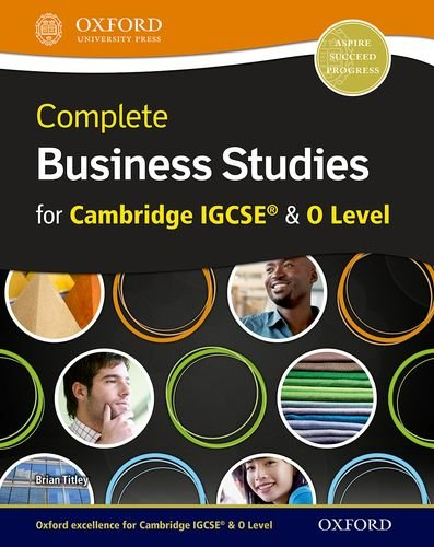 Complete Business Studies for Cambridge IGCSERG and O Level with CD-ROM