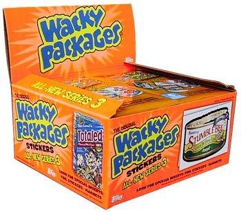 Wacky Packs Series (Wacky Packages Series 3 Pack)