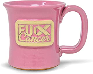 product image for FU Cancer Handmade Stoneware Coffee Mug