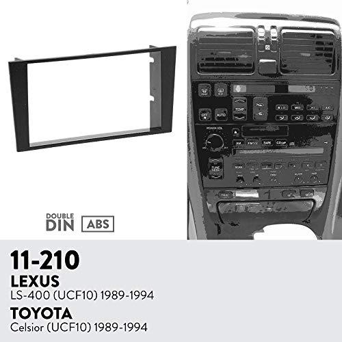 UGAR 11-210 Trim Fascia Car Radio Installation Mounting Kit for Lexus LS-400 (UCF10) 1989-1994/TOYOTA Celsior (UCF10) 1989-1994