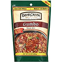 Bear Creek Country Kitchens Gumbo Soup Mix, 9.8 Ounce Bags (Pack of 6)