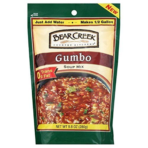 Bear Creek Country Kitchens Gumbo Soup Mix, 9.8 Ounce Bags (Pack of 6) Bear Creek Soup Mixes
