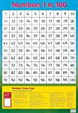 Numbers 1 to 100 (Wall Chart)