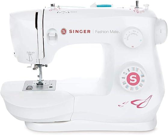 SINGER Fashion Mate - Máquina de coser (Blanco, Máquina de coser ...