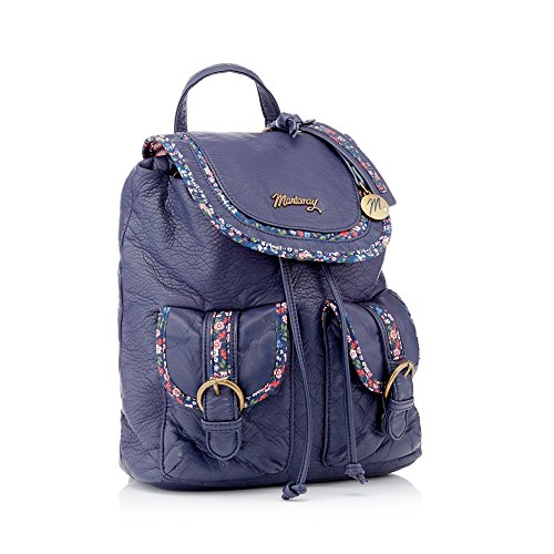Backpack Womens Mantaray Trim Navy Floral q4WwOH