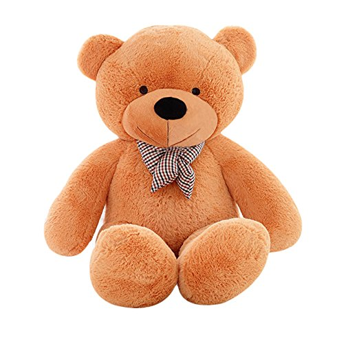 - MorisMos Giant Teddy Bear Cute Soft Toys Teddy Bear for Girlfriend Kids (Brown, 47 Inch)