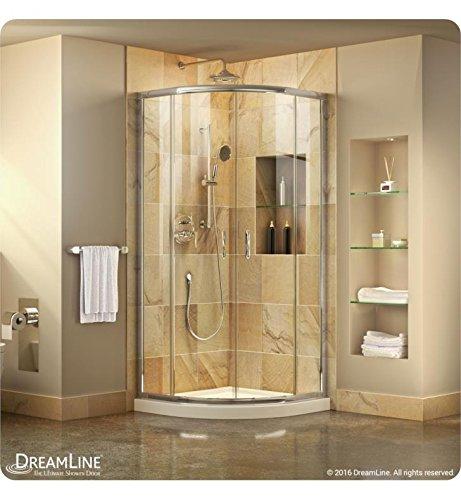 DreamLine DL-6703-01FR Prime Shower Enclosure and Base, W x 38