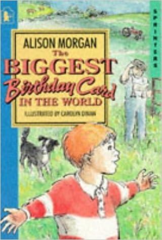 Biggest Birthday Card In The World Alison Morgan Carolyn Dinan