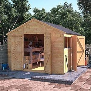 BillyOh Expert 12 x 10 Garden Workshop Shed