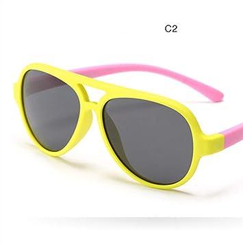 HUWAIYUNDONG Gafas De Sol, Niños Y Niñas Gafas De Sol ...