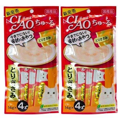 CIAO Chu ru Cat Food Lick Sasami 2 Pack (4 pcs / pack)