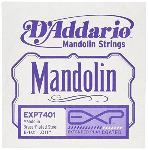 Exp Single - D'Addario EXP7401 EXP Mandolin Single String, First String.011