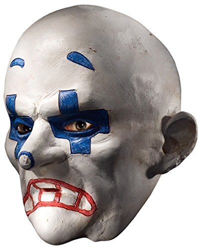 Costume Chuckles Clown The (Rubie's Costume Co Men's Batman The Dark Knight The Joker Henchman Chuckles Adult Mask, Multi, One)
