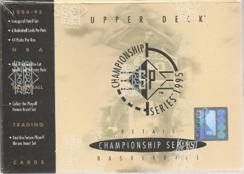 - SP 1994-95 Upper Deck Championship Series 1995 Basketball Retail Box