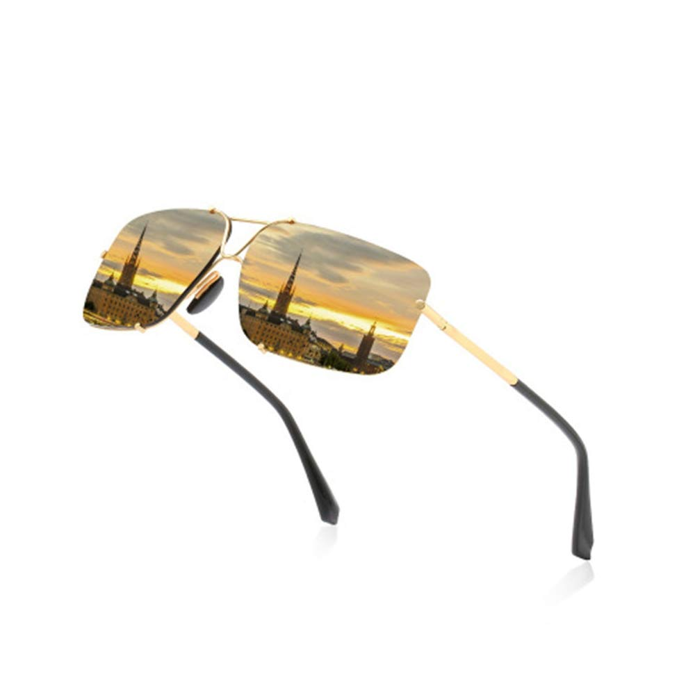 AZSXDC Photochromic Sunglasses Men Polarized Driving Glasses Change Color Sunglasses Day Night Vision Driving Eyewear by AZSXDC