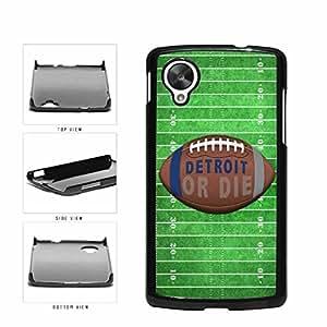 Detroit or Die Football Field Plastic Phone Case Back Cover Nexus 5