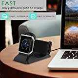 For Fitbit Blaze Charger Charging Stand, Charging Dock Station with 4.9ft Cable Replacement Charger for Fitbit Blaze Smart Watch