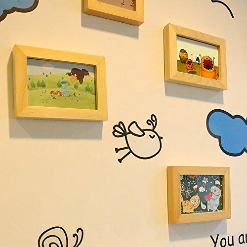 Pared de la foto / 10 Portaretrato de foto pequeña / DIY creativo etiqueta de la pared decoración / Decoración de la pared del pasillo del dormitorio de los ...