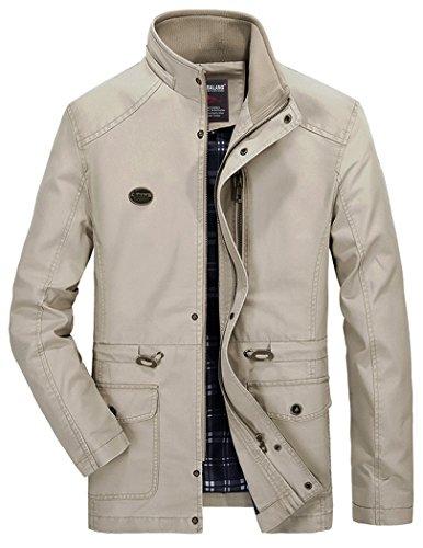 Quarter Zip Hooded Jacket - 9