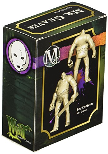 Wyrd Miniatures Malifaux Neverborn Mr. Graves Model Kit 4