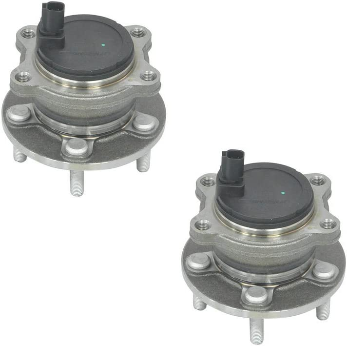 Pair DRIVESTAR 512466 Rear Left//Right Wheel Hub /& Bearing Assembly for 2012-2018 Ford Focus Rear Hub w//o Active Park Assist