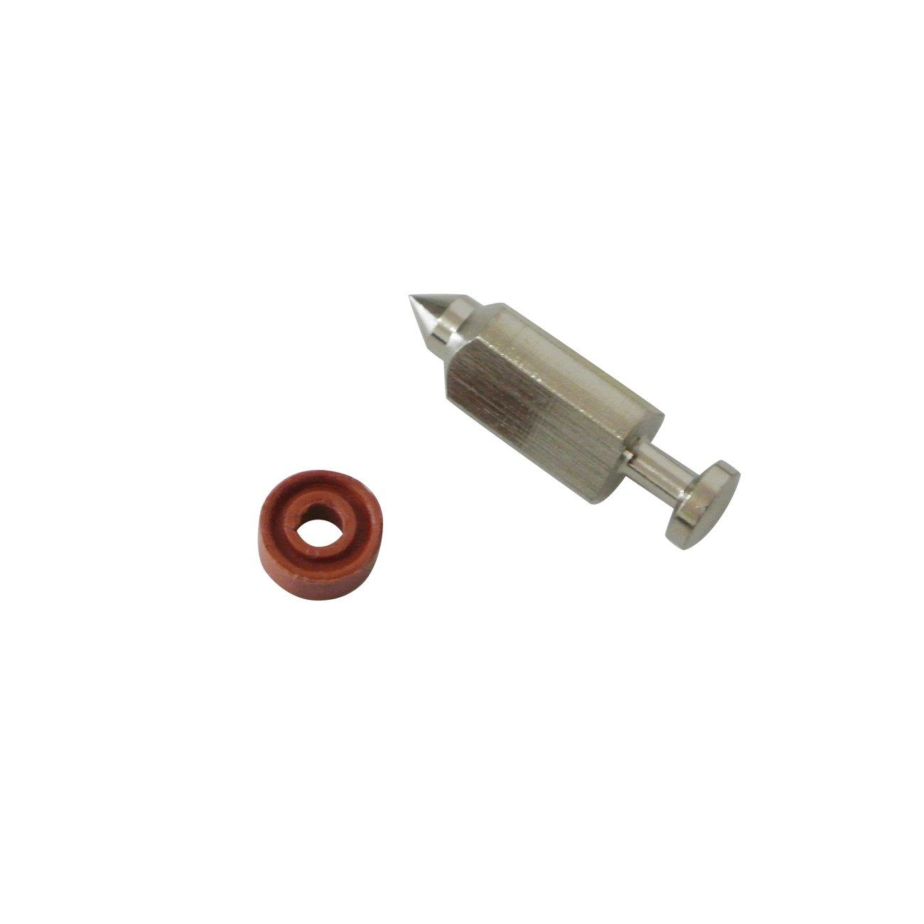 Nuevo carburador flotador válvula de aguja asiento Kit para Briggs & Stratton # 398188 Carb 1pieza: Amazon.es: Jardín