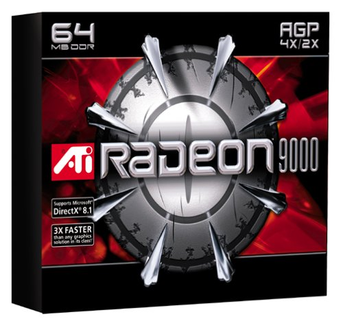 ATI Radeon 9000 64 MB AGP Graphics -