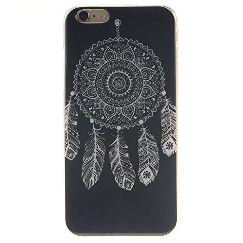 Custodia iPhone 6 / iPhone 6S , LH Nero Chimica Del Vento TPU Silicone Cristallo Morbido Case Cover Custodie per Apple iPhone 6 / iPhone 6S 4.7